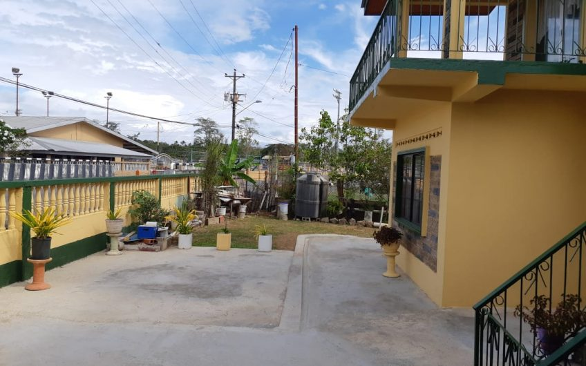 Cedros Two Storey House – FOR SALE
